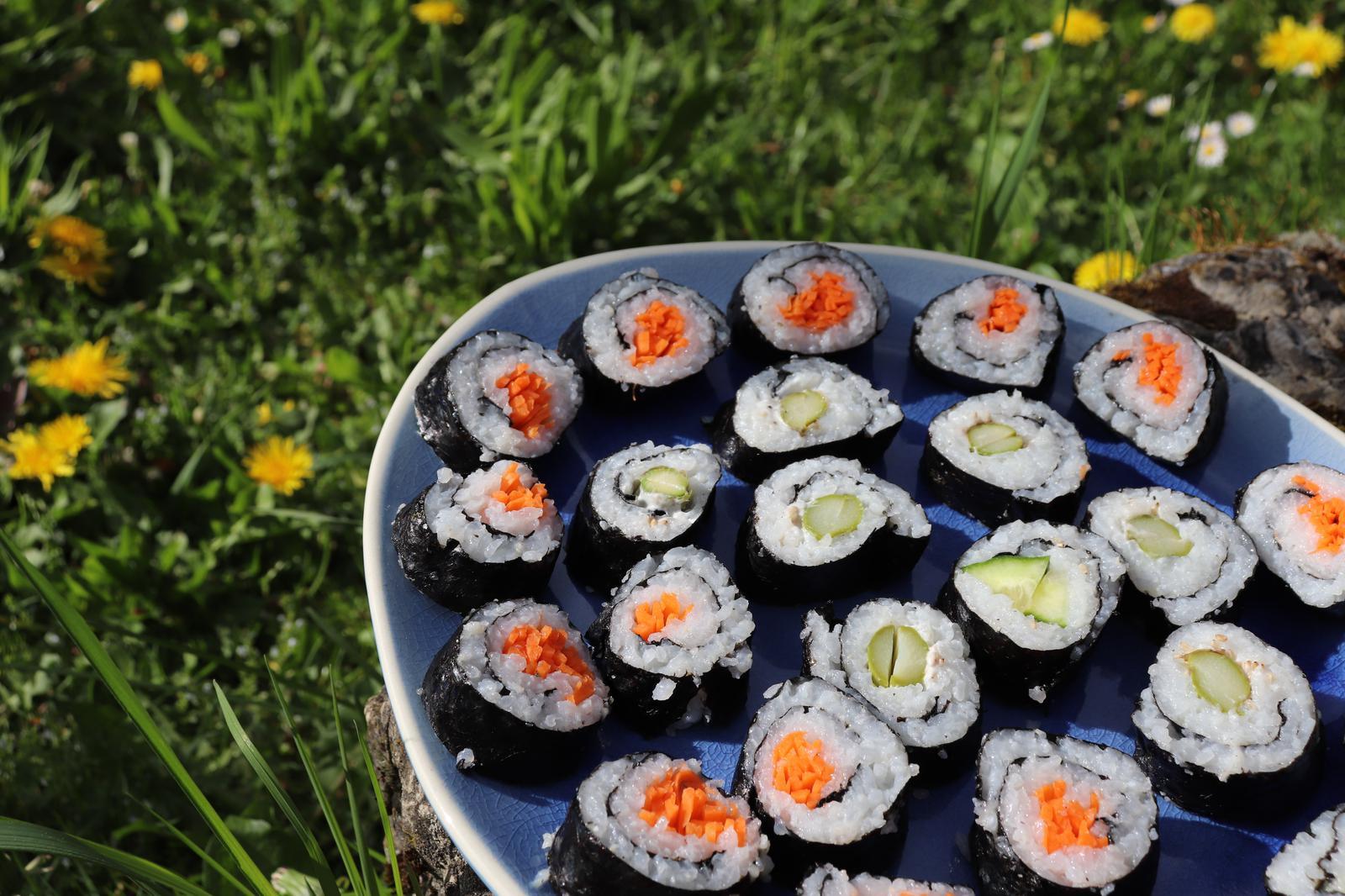 Vegan | Sushi | Vegane Familienküche | Glücksküche | Veganes Sushi | utas_glueck