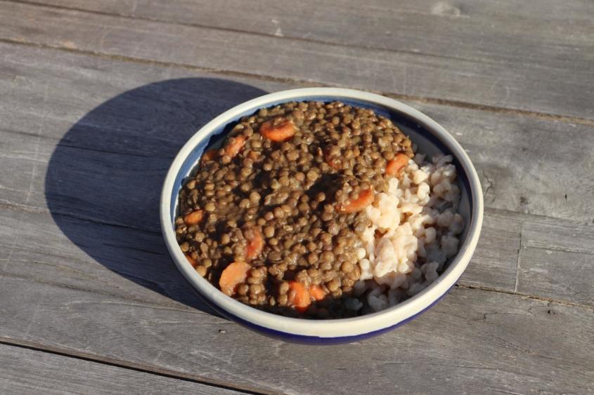 Vegane Linsen mit Spätzle|vegan|vegane Spätzle|vegane Familienküche|vegan kochen|Linsen|Schwäbisches Nationalgericht