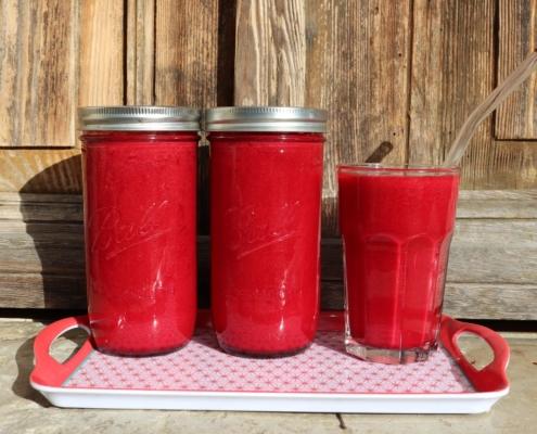 Rote Bete-Smoothie|Rote Bete|Rote Beete|Smoothie|Eisenquelle|vegan|eisenhaltig