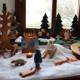 Unser Jahreszeitentisch in der Faschingszeit|Faschingszeit|Fasching|Fasnet|Karneval|Jahreszeitentisch|Season Table|Seasons Table|Waldorf|Waldorfheim|Waldorfinspired Home|Unser Jahreszeitentisch im Februar