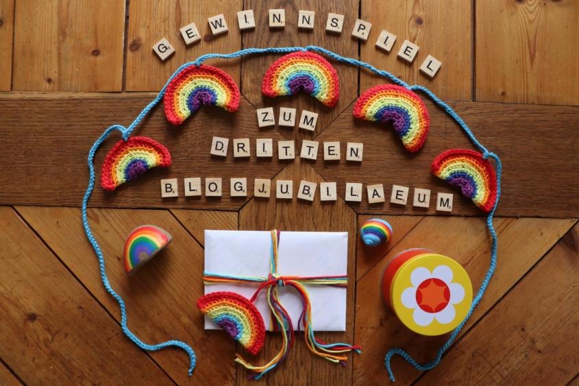 Mein drittes Blogjubiläum|Blogjubiläum|Utas Glücksblog|Utas Glück|Utas Glueck|Utas Gluecksblog|Gewinnspiel